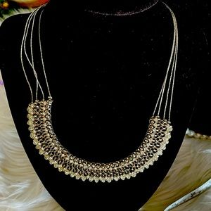 Maurices multi chain choker necklace